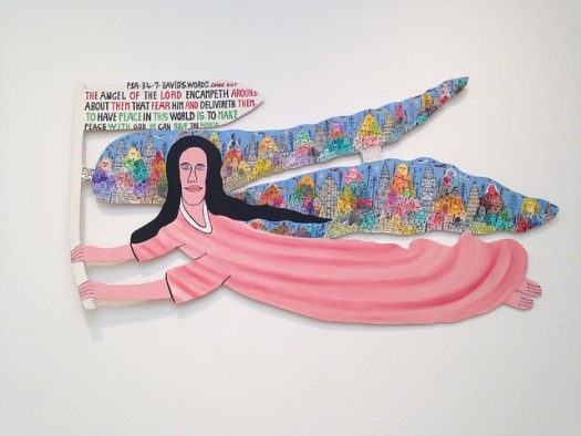 Howard Finster, An Angel of the L-rd #10000, High Museum, Atlanta GA