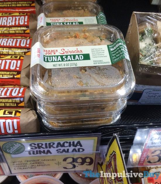 Trader Joe's Sriracha Tuna Salad