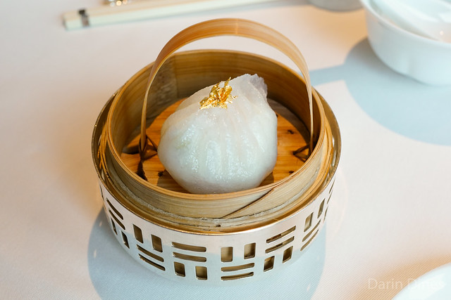 Steamed Shrimp and Crab Meat Dumplings with Egg White