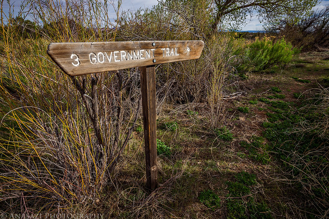 Government Trail Sign