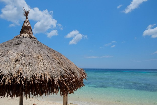 The perfect nipa hut. Coco Grove, Siquijor, Philippines