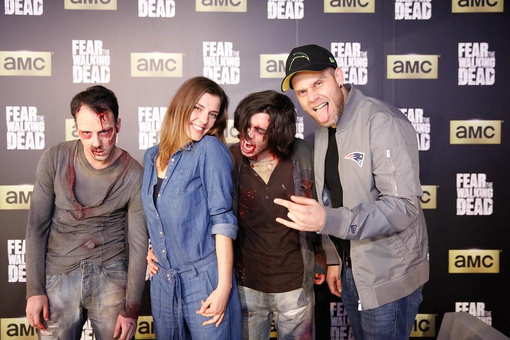 Famosos assistem ao primeiro episódio da 2T de Fear The Walking Dead AMC