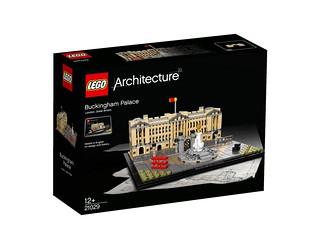 LEGO Architecture 21029 Buckingham Palace box