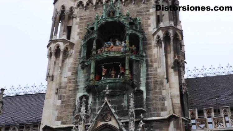 Glockenspiel del Neues Rathaus en Munich
