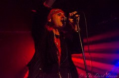 Spike of The Quireboys at Limelight 2, Belfast, 11 March 2016