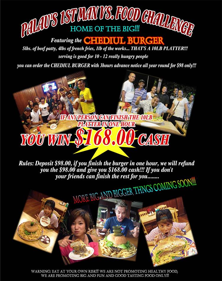 31 Chediul Burger Challenge