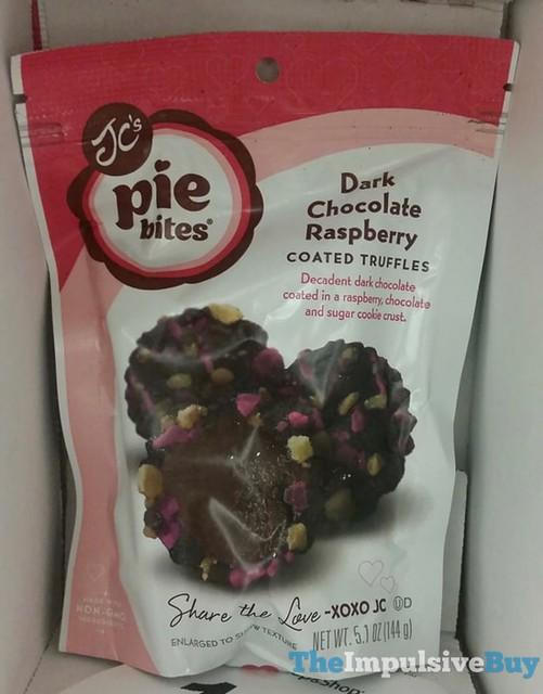 JC's Pie Bites Dark Chocolate Raspberry
