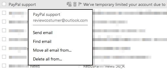 Phishing Email 01