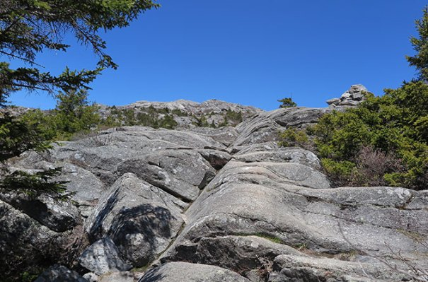 White Cross Trail Rocks 1