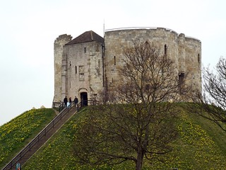York Clifford's Tower - the tea break project solo female travel blog