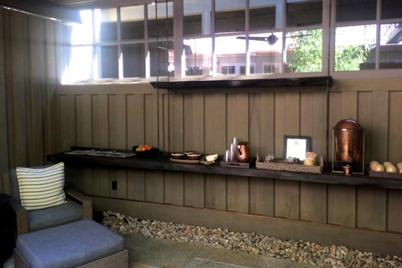 Lounge at Meadowood Spa