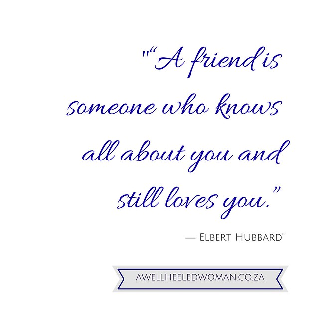 A Woman's life series how has friendships positively impacted your life #awomanzlife