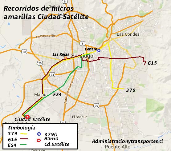 Infografía micros Ciudad Satélite