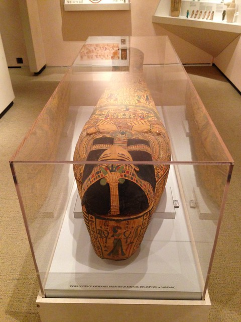 Inner Coffin of Anesenmes, Priestess of Amun-Re, Dynasty XXI, ca 1085-950BCE