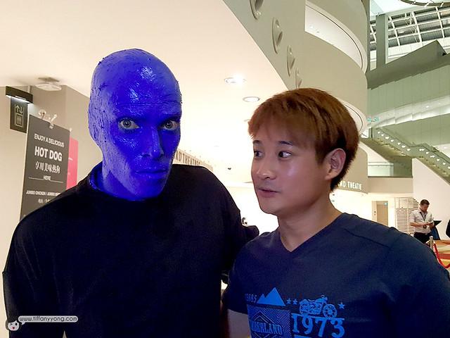 Blue Man Gavin Goh