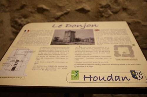 Inauguration du donjon de Houdan