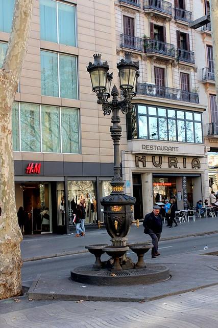 Fuente de Canaletas de Barcelona
