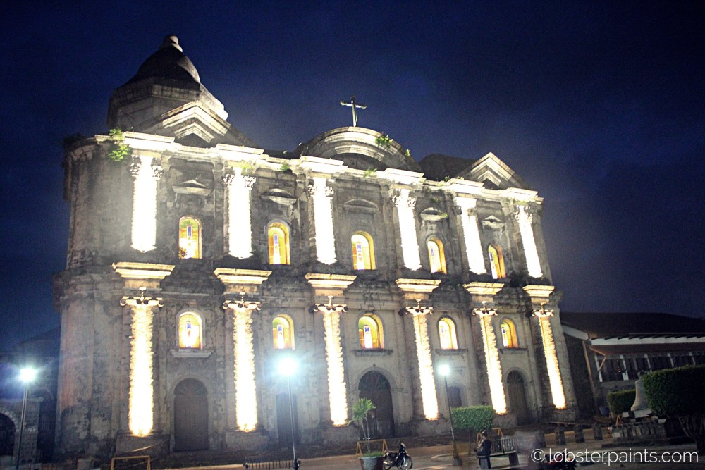 15 October 2015: Basilica of Saint Martin of Tours (Taal Church)   Taal, Batangas, Philippines