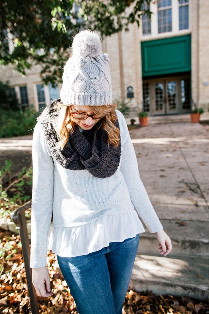 peplum sweater knit beanie3