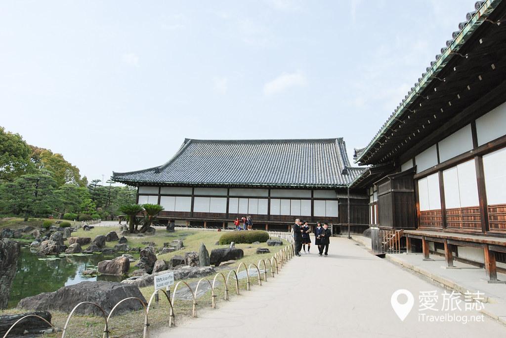 京都赏樱景点 元离宫二条城 11