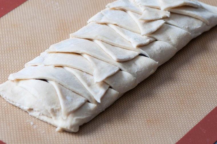 Cream Cheese Blackberry Braid