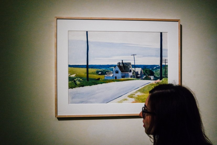 Hopper acquarello