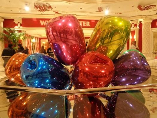 Jeff Koons Tulips, Wynn Hotel, Las Vegas NV