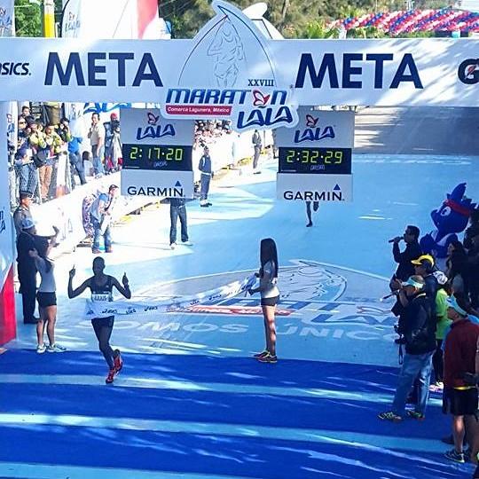 Julius Keter - Maratón LALA 2016
