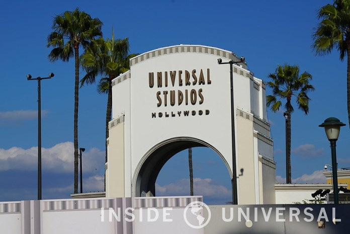 January 5, 2016 Update - Park Entrance - Universal Studios Hollywood