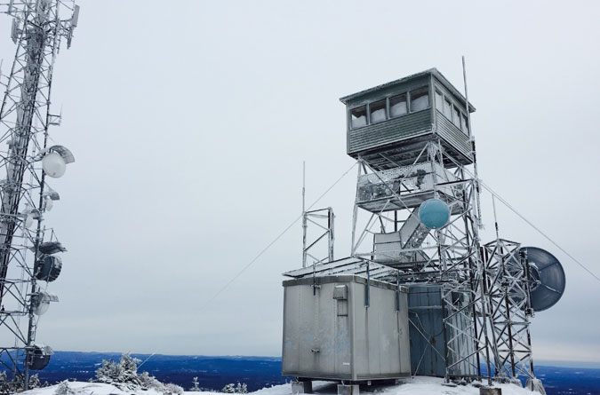 Mt. Kearsarge Summit Tower