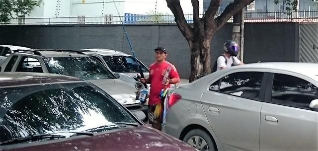 manaus street lights fishing rod