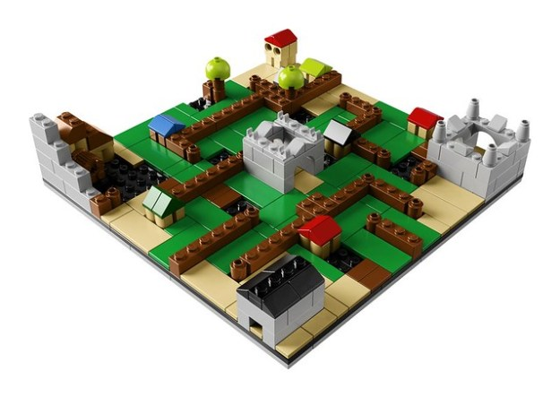how to make a lego maze box