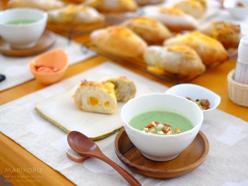 チーズクッペ ほうれんそうスープ20160310-11-DSCF0338