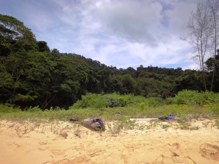 White Sand Beach near Langkawi