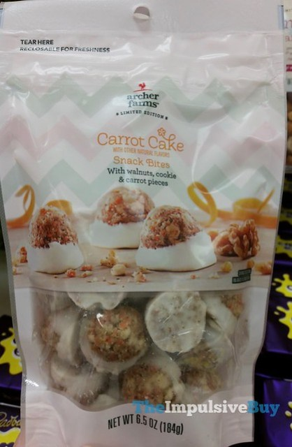 Archer Farms Limited Edition Carrot Cake Snack Bites