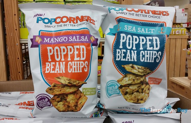 Popcorners Mango Salsa and Sea Salt Popped Bean Chips