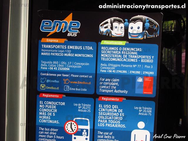 Eme Bus - Información Básica - Marcopolo Paradiso 1800 DD / Scania 8x2 (HRJS95) (137)