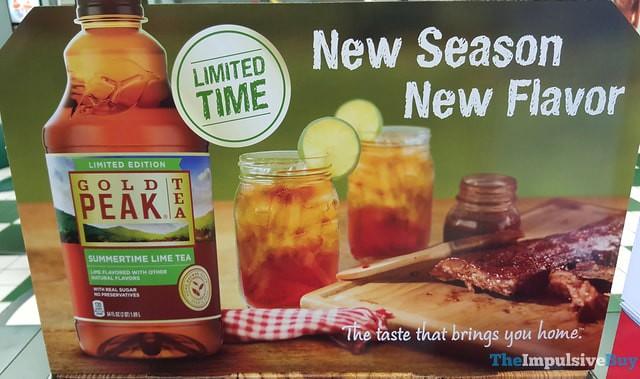 Gold Peak Limited Edition Summertime Lime Tea