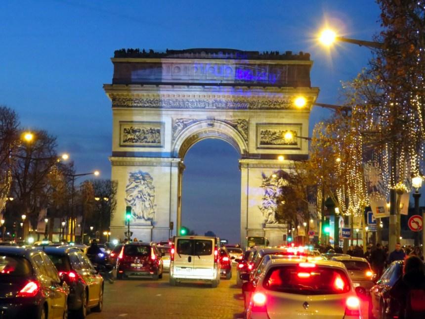 Arco del Triunfo de Paris