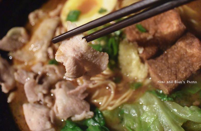 台中拉麵一中街鐵人麵倉美食小吃13