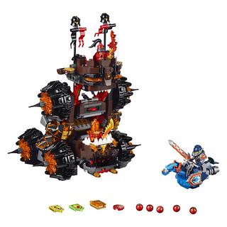 LEGO Nexo Knights 70321 General Magmar's Siege Machine of Doom