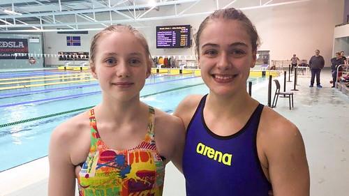 RIG 2016 Alisa og Sára gull í 800 frí