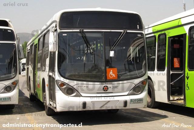 Transantiago - Subus Chile - Marcopolo Gran Viale / Volvo (BJFG86) (7197)