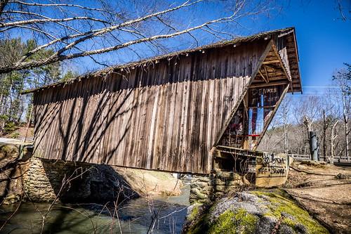 Stovill Mill Covered Bridge-006