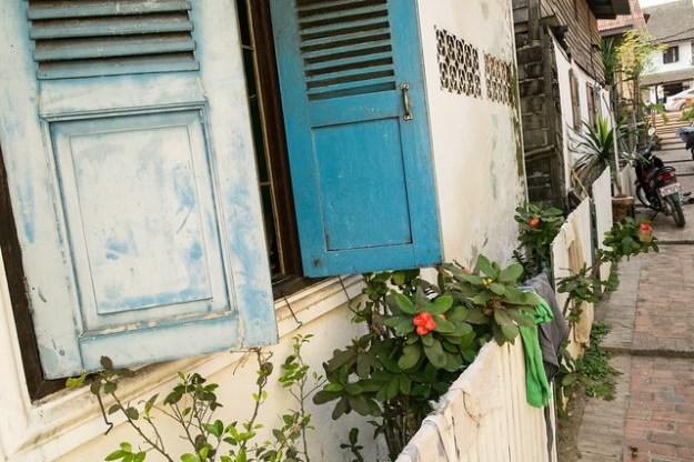 Alley. Luang Prabang