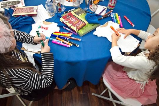kids making onesies
