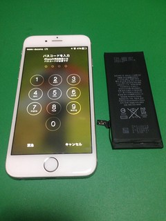68_iPhone6のバッテリー交換