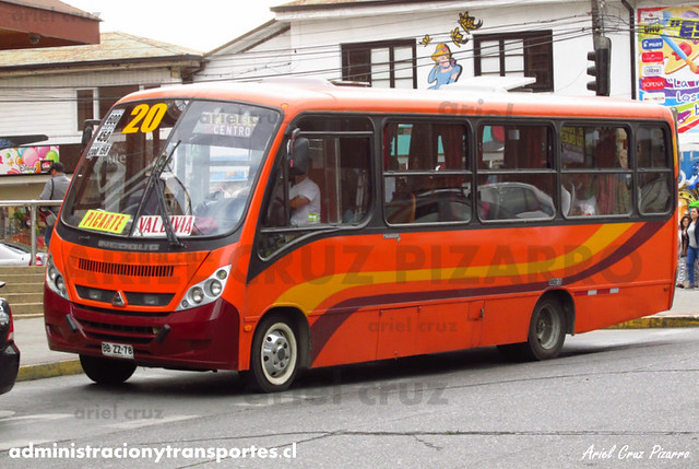 Micro 20 Valdivia - Niebla / Neobus Thunder - Agrale (BBZZ78)