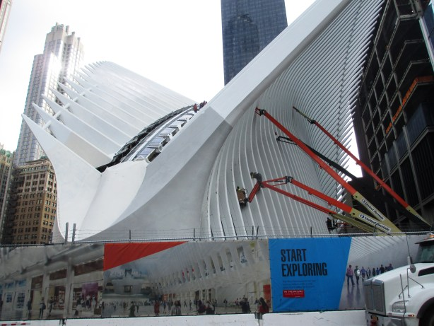 Oculus Near the 9/11 Memorial, New York City, NY, Feb. 10, 2016