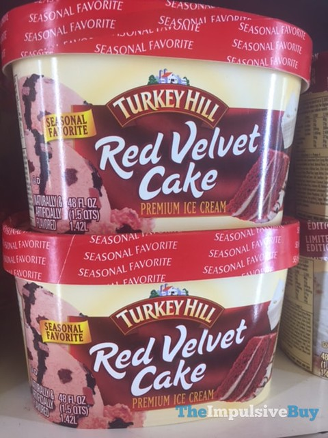 Turkey Hill Seasonal Favorite Red Velvet Cake Premium Ice Cream